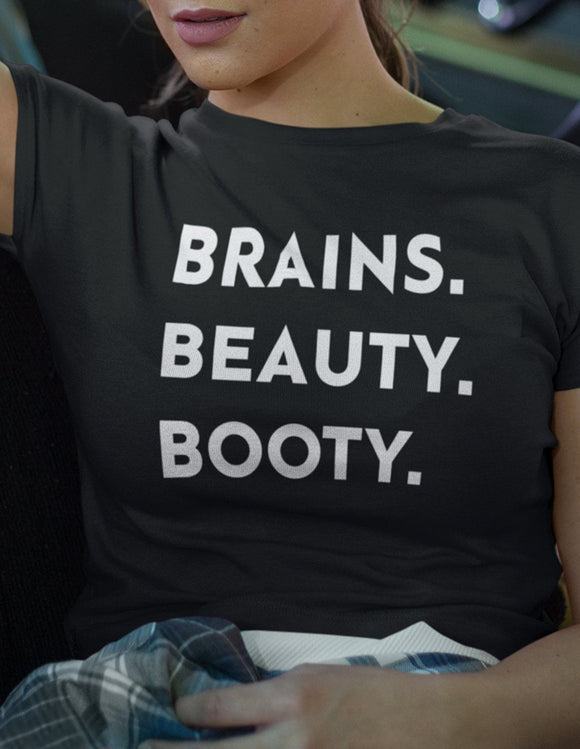 BRAINS BEAUTY BOOTY - memesmerch