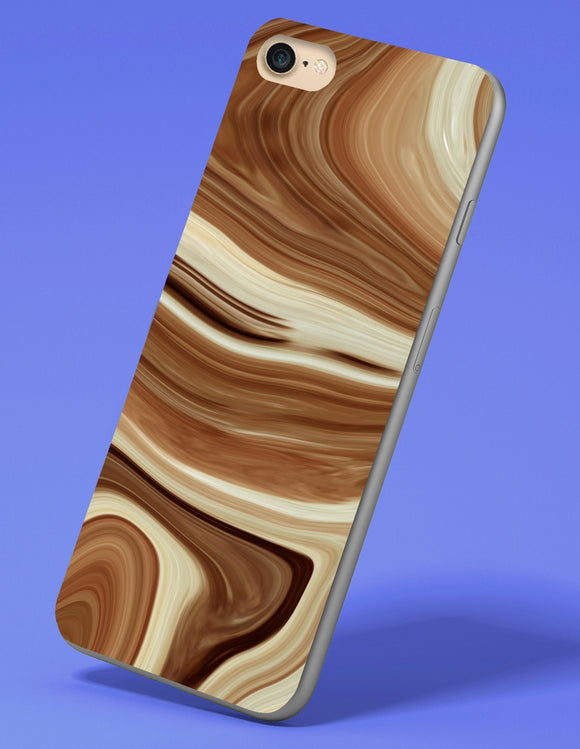 Brown Agate iPhone Case - memesmerch