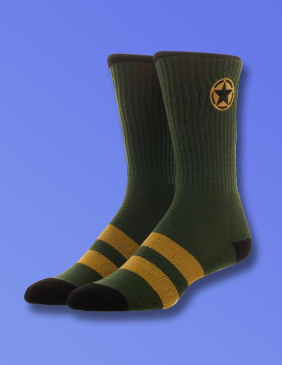 Call Of Duty WWII Crew Socks - memesmerch