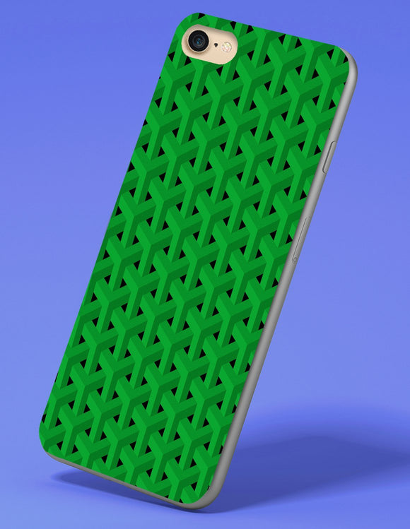 Geometric Pattern iPhone Case - memesmerch