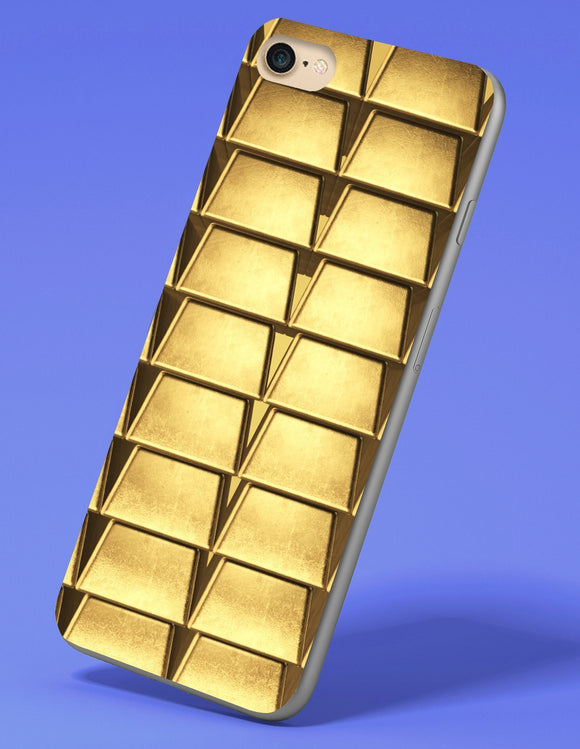 Gold Bar iPhone Case - memesmerch
