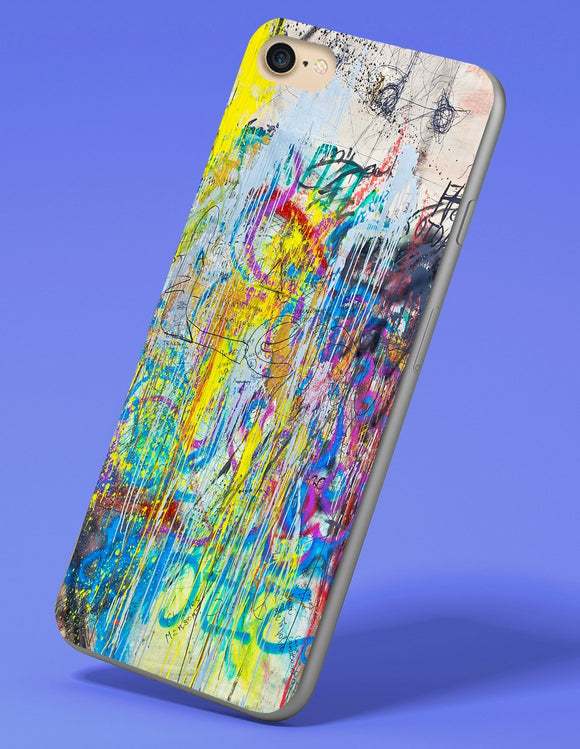Graffiti Splatter iPhone Case - memesmerch