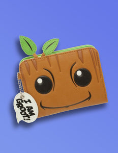 Guardians of the Galaxy Groot Zip Wallet - memesmerch