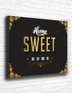 Home Sweet Home Canvas - memesmerch