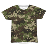 Green & Black Olive Camouflage - memesmerch