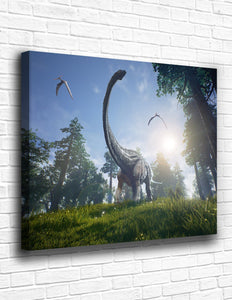 The Jurassic World Canvas - memesmerch