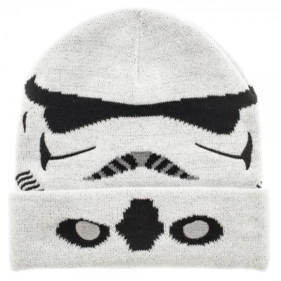 Star Wars Storm Trooper Cuff Beanie - memesmerch