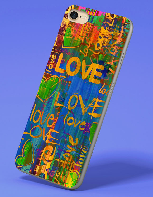 Love love love iPhone Case - memesmerch