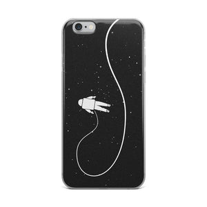 Astronaut In Space iPhone Case - memesmerch