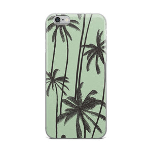 Summer Palm Trees iPhone Case - memesmerch