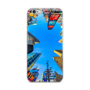 Times Square iPhone Case - memesmerch
