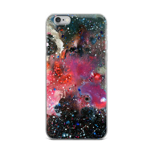 Painted Universe iPhone Case - memesmerch