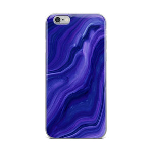 Blue Agate iPhone Case - memesmerch