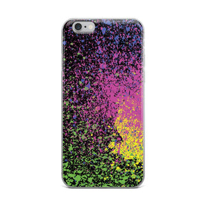 Color Splash iPhone Case - memesmerch