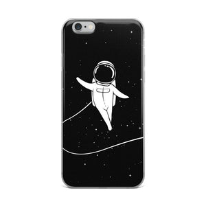 Space Walk iPhone Case - memesmerch