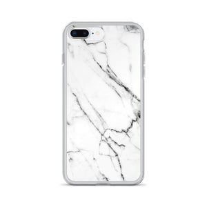 White Marble iPhone Case - memesmerch