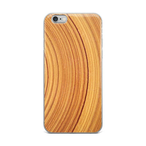 Tree Circles iPhone Case - memesmerch