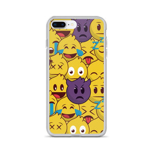 Emoji Party iPhone Case - memesmerch