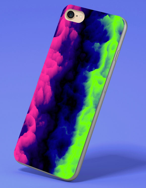 Neon Gas Cloud iPhone Case - memesmerch