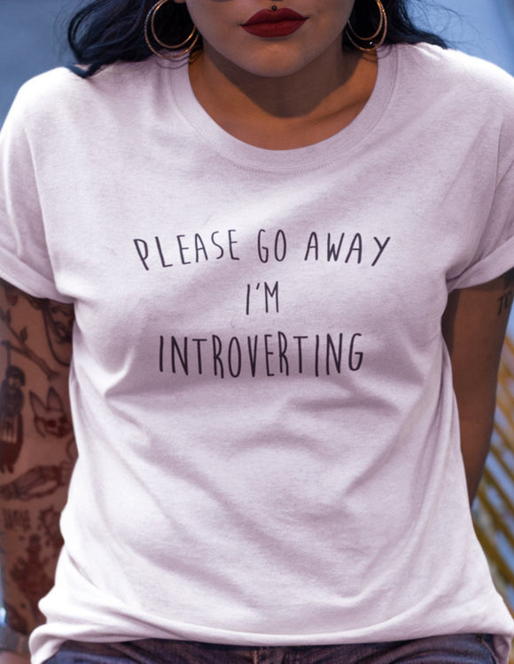 Please Go Away I'm Introverting - memesmerch