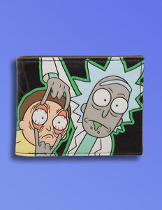 Rick & Morty Glow In The Dark Wallet - memesmerch
