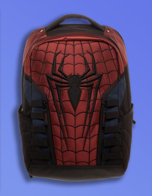 Marvel Spiderman Logo Backpack - memesmerch