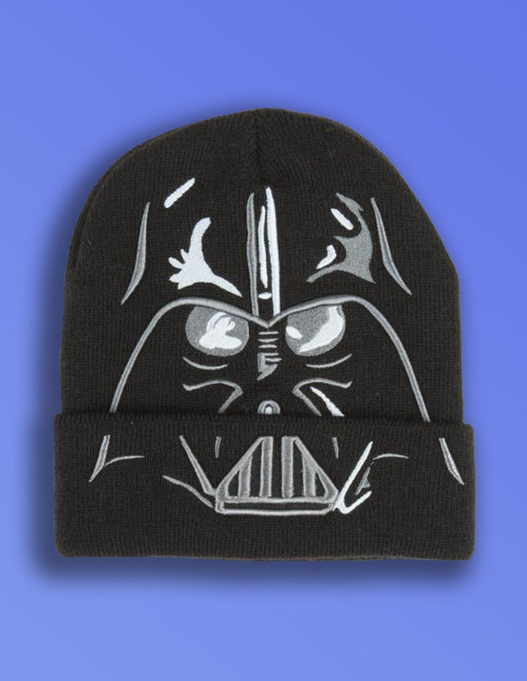Star Wars Darth Vader Cuff Beanie - memesmerch