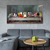 Memes Supper Canvas - memesmerch