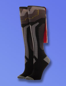 Thor Knee High Cape Socks - memesmerch