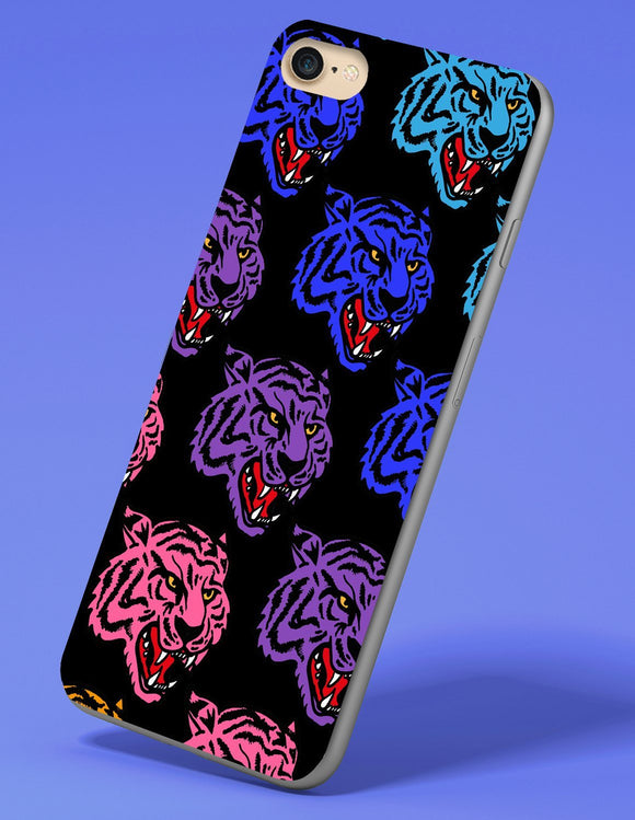 Trippy Tiger iPhone Case - memesmerch