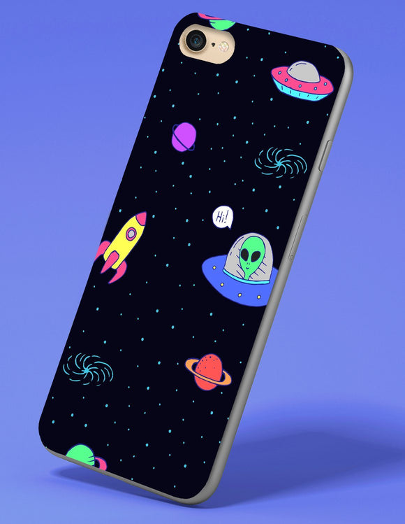 UFO X Galactic iPhone Case - memesmerch