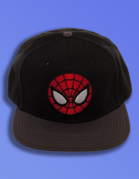 Ultimate Spiderman Black Snapback - memesmerch