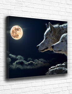 The Wolf Pack Canvas - memesmerch