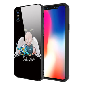 IPhone Case - Black Sebastian Angel Wings