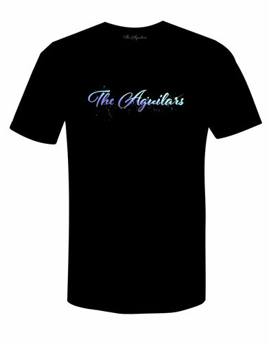 TShirt- Black The Aguilars Holographic