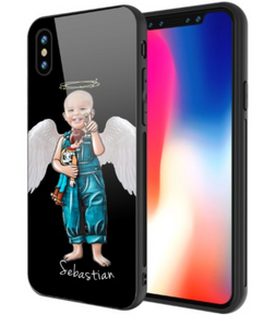 Black IPhone Case- Sebastian Angel Wings 2019