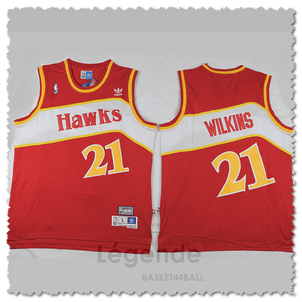maillot-basket-wilkins-qualité-rouge-legende