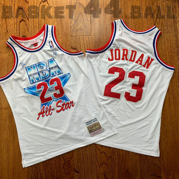 Jordan-michael-all star game-ASG-1991-blanc-23