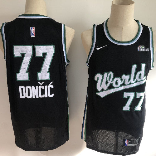MAILLOT-world-rising star-doncic-77-brodé