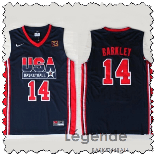 barkley-usa-maillot-dream team-qualité-bleu-1992