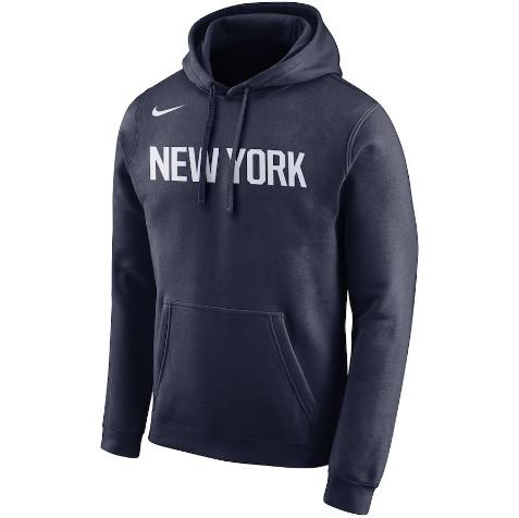 hoodie-city edition-knicks-2019-bleu