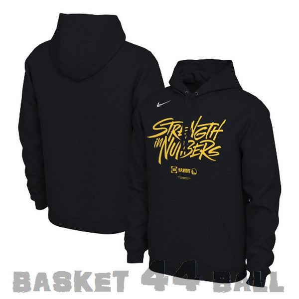 hoodie-pull-nike-nba-strength in numbers-noir-warriors-golden state