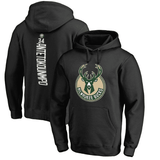 hoodies-noir-bucks-qualité-milwaukee-logo-giannis