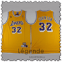 johnson-lakers-maillot-qualité-jaune