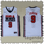 jordan-usa-maillot-dream team-qualité-blanc