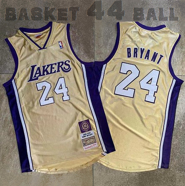 kobe-24-icon-hommage-mitchell & ness-hall of fame-kobe-bryant-jaune-1