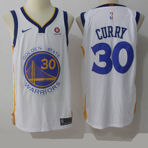 maillot-2019-warriors-golden state-curry-blanc