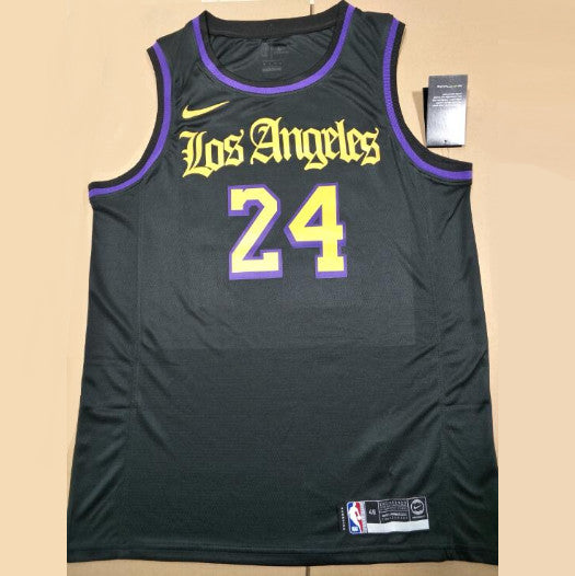 maillot-Kobe-Bryant-24-lakers-2020--throwback-noir-floqué