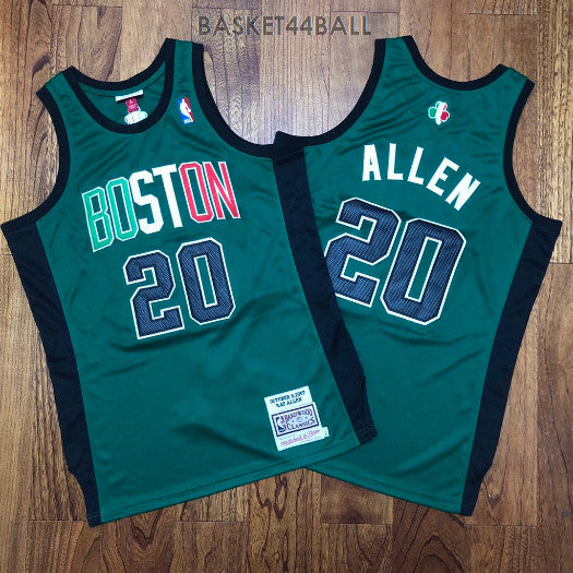 maillot-allen-ray-boston-vert-20-qualité