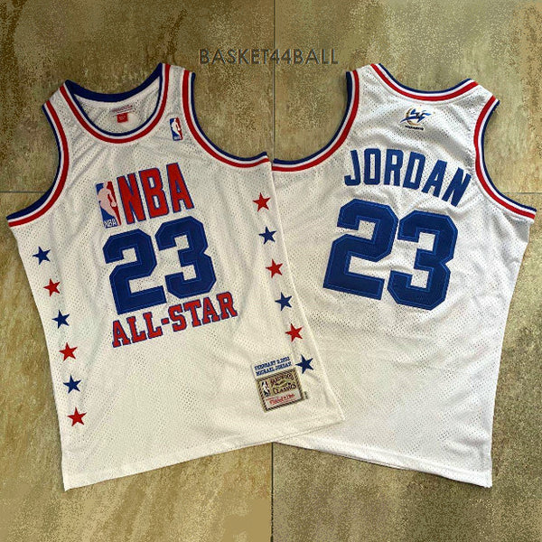 maillot-all star game-2003-jordan-23-blanc-wizzard